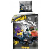 LEGO BATMAN ÁGYNEMŰHUZAT GARNITÚRA 2 RÉSZES PAMUT 140 X 200 + 70 X 90 CM