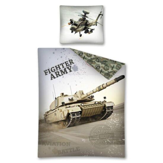 ARMY ÁGYNEMŰHUZAT 2 RÉSZES PAMUT 140 X 200 + 70 X 80 CM